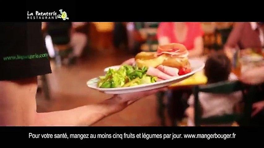 TV Low Cost pour La Pataterie - restaurant, «La Pataterie, qu'est-ce qu'on est bien ici !» - juillet 2014