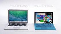 McCann Erickson pour Microsoft - tablette Surface Pro 3, «Surface Pro 3 vs MacBook Air» - novembre 2014