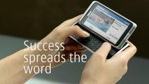 """Nokia - téléphone portable Nokia E7 - mars 2011 - """"Success is what you make it"""""""