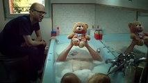 Les Gaulois pour Jemini - ours en peluche Grumly, «Joue du Grumly, www.grumly.fr» - octobre 2014 - watergrum