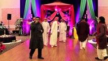 FUNNY MEHNDI DANCE - Desi vs. Arab skit! Pakistani wedding Hammad + Mehar, Part 1_3