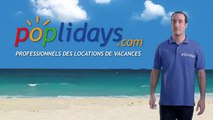 "Poplidays - location de vacances Poplidays.com, ""La location de vacances garantie par des pros"" - février 2013 - billboard 3s"