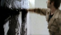 Le Peintre; artiste peinture noire; film 30s