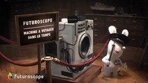 """Parc du Futuroscope - parc d'attractions, """"La machine à voyager dans le temps des Lapins Crétins"""" - janvier 2014"""