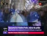 Dictatură în Rusia. Opozantul lui Vladimir Putin, reţinut de poliţie. Alexei Navalnîi voia să participe la un miting, în Piaţa Roşie
