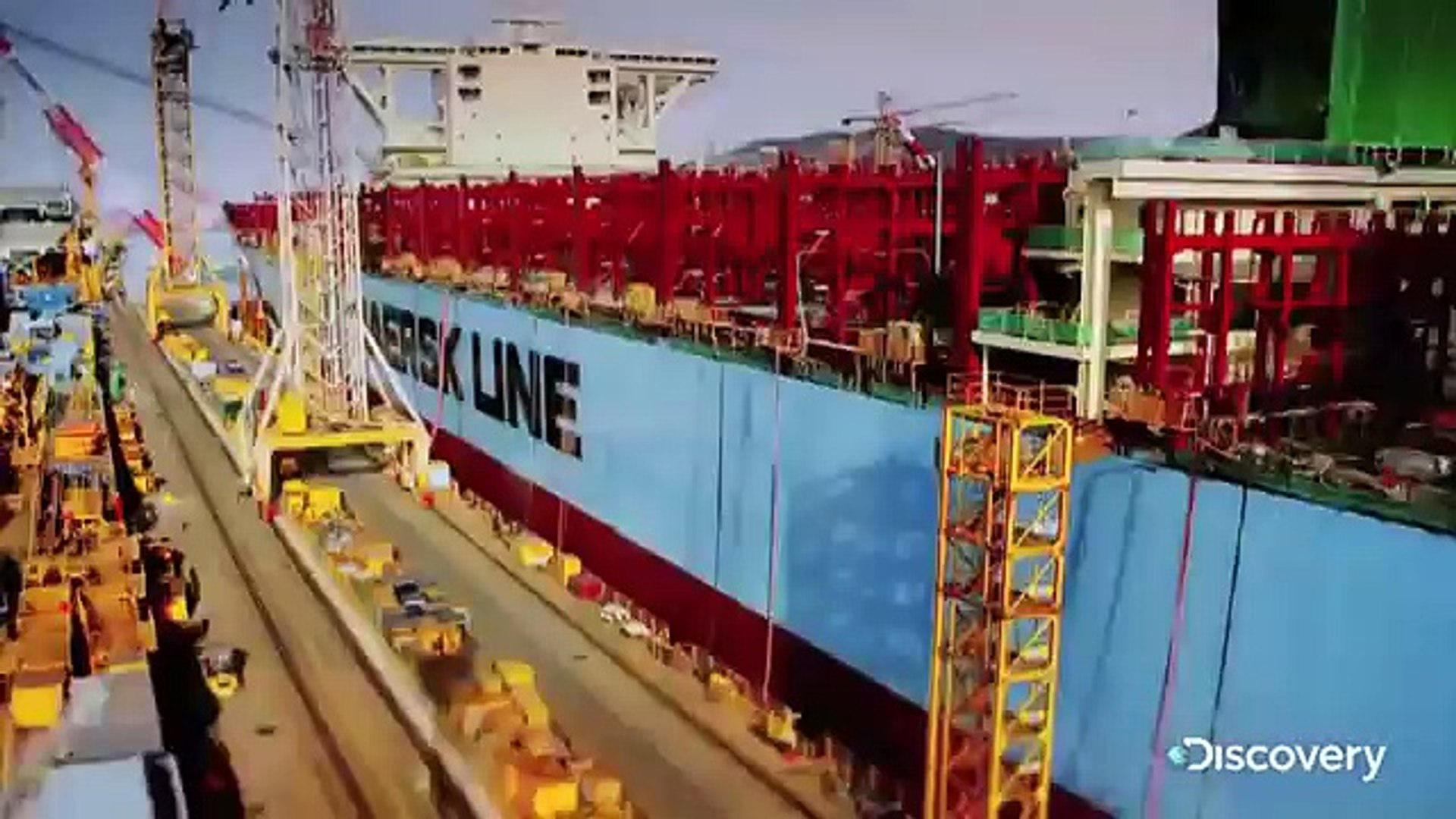 Discovery Channel 2015 |Discovery  World's Biggest Ship