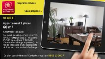 A vendre - appartement - SAUMUR (49400) - 3 pièces - 60m²