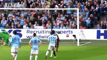 MANCHESTER CITY VS WIGAN ATHLETIC 1 2  Official Goals And Highlights FA Cup Sixth Round