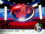 Aaj Shahzaib Khanzada Ke Saath 12 January 2014 on Geo News