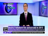 Încă 8,7 km de autostradă în 2015. Tronsonul Gilău-Mihăieşti al autostrăzii Transilvania va fi gata în acest an