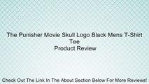 The Punisher Movie Skull Logo Black Mens T-Shirt Tee Review