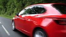 "Seat - voiture Seat Leon SC, ""Alex Goude et Sandrine Corman"" - juin 2013 - conduite"