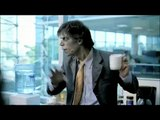 """Snickers (Mars Company) - barres chocolatées - août 2010 - """"Zombie, Office"""", """"When you're hungry, you're not yourself"""""""