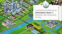 """Suez Environnement - production d'eau potable, """"L'eau potable, un défi quotidien"""" - juillet 2013"""