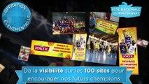 Sportfive pour Joker - jus de fruits, «Activation 360° entre Joker et la Fédération française de basket-ball» - 2014