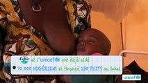 """Volvic - eau minérale, """"1 vidéo regardée, 1 litre d'eau puisée au Sahel, www.youtube.fr/volvic"""" - avril 2012"""