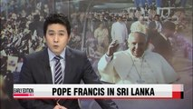 """Pope Francis calls for """"pursuit of truth"""" in Sri Lanka visit"""