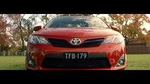 Saatchi & Saatchi Sydney pour Toyota - voiture Toyota Camry, «Dad to the bone» - juillet 2014