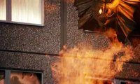 """Scrabble (Mattel) - jeu de lettres Scrabble Délire - novembre 2010 - """"L'immeuble en délire"""", 60s"""