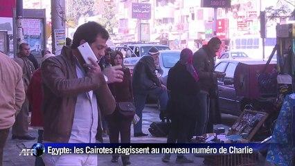 Nouveau numéro de Charlie Hebdo: réactions au Caire
