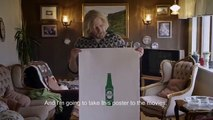 "Wieden & Kennedy Amsterdam pour Heineken - bière, ""The Legendary Posters, thelegendaryposters.com"" - avril 2014"