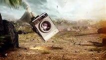 """Ubisoft - jeu vidéo """"E3, Lapins Crétins, retour vers le passé (Raving Rabbids)"""" - janvier 2011"""