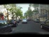 """Sécurité Routière - lutte contre les accidents de la route - juin 2010 - """"Deux-roues motorisés"""", Voiture qui déboîte"""