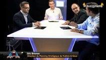 Le Buzzomètre n°2, présenté par Emery Doligé - Le luxe et le monde digital - avec Eric Briones, Xavier Tormes, Emmanuel Vivier, Eric Mettout