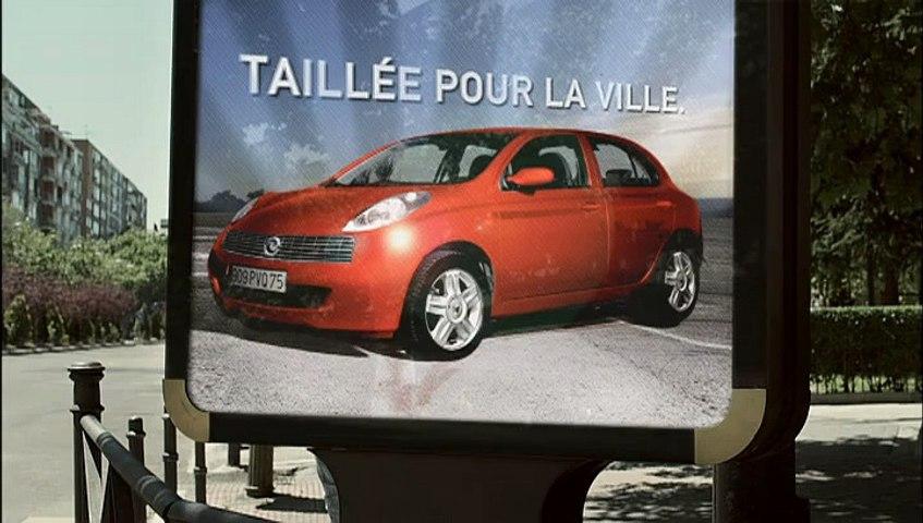 Renault Dacia - voiture Dacia - juillet 2009 -...