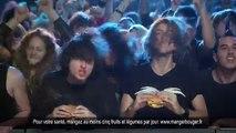 """TBWA Paris pour McDonald's - restauration rapide, """"Le concert"""" - janvier 2014"""
