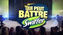 """Swiffer (Procter & Gamble) - produits de nettoyage, """"Qui peut battre Swiffer ?"""" - février 2012 - Luc"""