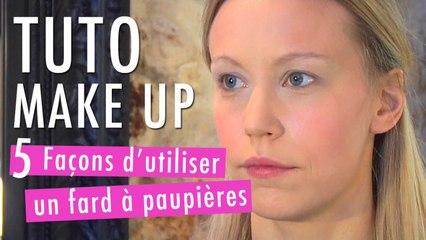 5 façons d'utiliser un fard à paupière - Tuto Make Up