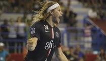 Mikkel Hansen, a Paris first team regular, in Qatar for the World Handball Championship.
