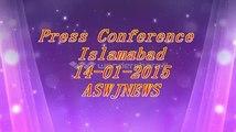 اسلام آباد؛ مولانا محمد احمد لدھیانوی صاحب کی پریس کانفرنس