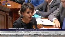 """Najat Vallaud-Belkacem : """"L'école est en première ligne, elle sera ferme"""""""