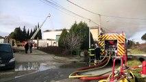 Bédarrides : un incendie dans l'ancienne usine Canissimo