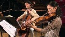 Quatuor Op.18 n°2, Adagio cantabile de Beethoven par le Quatuor Hermès | Le Live du Magazine