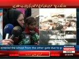 عمران خان کا آرمی پبلک سکول پشاور کا دورہ بچوں کے والدین کا شدید احتجاج