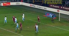 Goal (penalty) Ledesma K., Torino 1 - 3 Lazio - Italian Cup - 14/01/2015