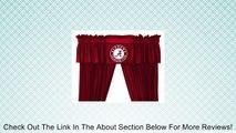 Alabama Crimson Tide Bama Window Treatments Valance and Drapes Review