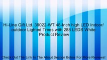 Hi-Line Gift Ltd. 39022-WT 48-Inch high LED Indoor/ outdoor Lighted Trees with 288 LEDS White Review
