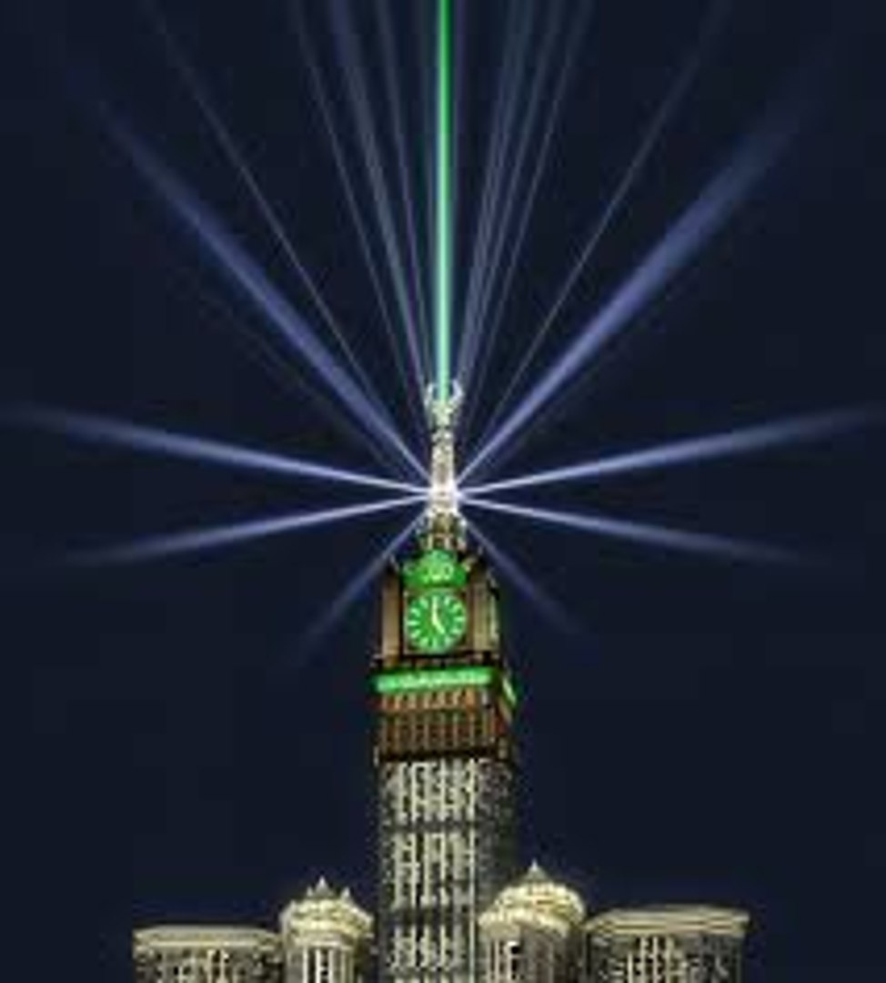 Unseen Video Of Construction Of Royal Clock Tower Makkah Video Dailymotion