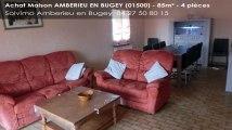 A vendre - maison - AMBERIEU EN BUGEY (01500) - 4 pièces - 85m²
