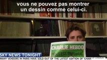 Sky News interrompt l'interview de Caroline Fourest qui montrait la dernière une de Charlie Hebdo