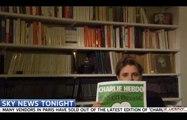 Sky News censure la couverture de Charlie Hebdo montrée par Caroline Fourest