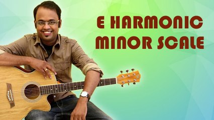 How To Play - E Harmonic Minor Scale - Guitar Lesson For Beginners