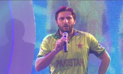 watch Shahid Afridi has no interest in film industry