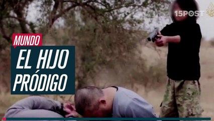 ISIS difunde un video de un nino ejecutando a dos espias rusos