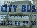 City-Bus à Montreuil Sous Bois en Seine-Saint-Denis.