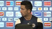 Lucas Barrios avant FC Metz-MHSC (21ème journée L1)